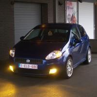 Fiat Punto met USLights