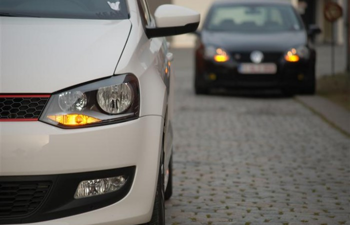 VW Polo 6R en Golf 5 met USLights