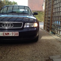 Audi A4 met USLights close-up