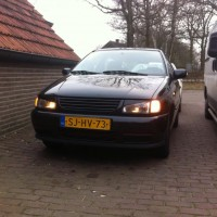VW Polo 6N met USLights