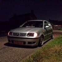 VW Polo 6N2 met USLights en verlaagd