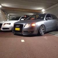 Twee keer Audi A4, allebei met USLights