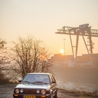 VW Golf 2 met USLights