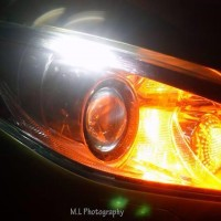 Seat koplamp Ibiza met USLights gloed