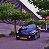 Peugeot 207 sjiek met USLights