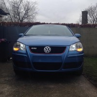 VW Polo 9N1 GTI met USLights