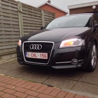 Audi A3 met LED en USLights