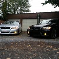 BMW 3 serie Tourings met USLights
