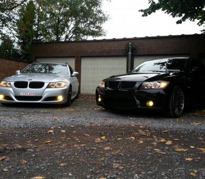 BMW 3 serie Tourings met USLights