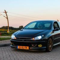 Peugeot 206 met USLights