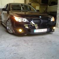 BMW 5 serie, mistlampen en USLights
