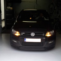 VW Polo 6R met USLights