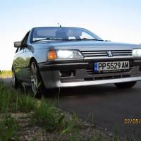 Peugeot 405 met USLights