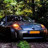 Nissan 350Z met USLights