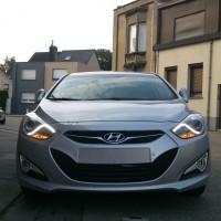 Hyundai i40 met USLights en LED strip