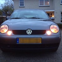 VW Lupo met USLights
