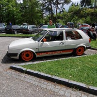 USLights Feature Golf 2 (eigenaar Ferdie) op Worthersee