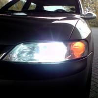 Opel Vectra met USLights en xenon