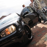 VW Golf 4 met dubbele USLights knipperlichten
