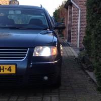 VW Passat 3BG met USLights en xenon