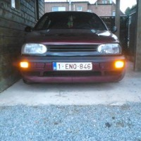 VW Golf 3 met USLights