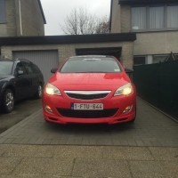 Opel Astra met USLights