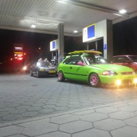 Honda Civic met USLights