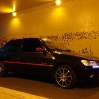 Peugeot 306 met USLights