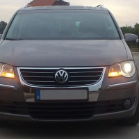 VW Touran met USLights