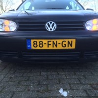 VW Golf 4 met dubbele USLights