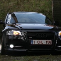 Audi A3 met USLights