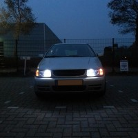 VW Polo 6N met USLights en xenon