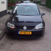 VW Golf 5 met USLights