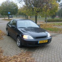 Civic sedan met USLights