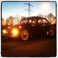 VW Kever met USLights