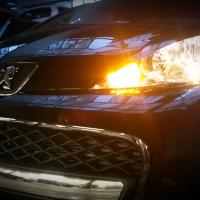 Peugeot 107 met USLights