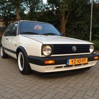 VW MK2 Golf met USLights wit