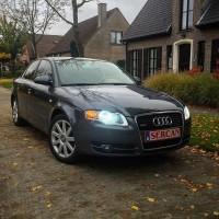 Audi A4 met USLights