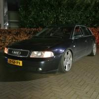 Audi A4 met USLights 2