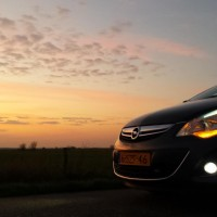 Opel Corsa D met USLights