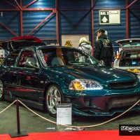 Honda Civic met USLights op beurs