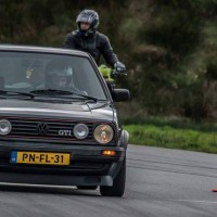 Golf 2 VR6 met USLights