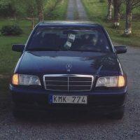 Mercedes w202 C220 USLights in zweden