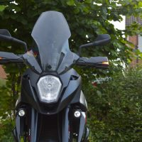 KTM Motorcycle met USLights als Runninglights