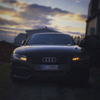 Audi A5 from norway with USLights