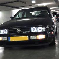 Corrado VR6 USA met USLights aan