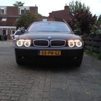 BMW 7 serie met USLights