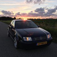 VW Bora met dubbele USLights