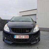 Opel Corsa Belgie met USLights