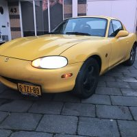 Mazda MX5 USLights en Sidemarkers